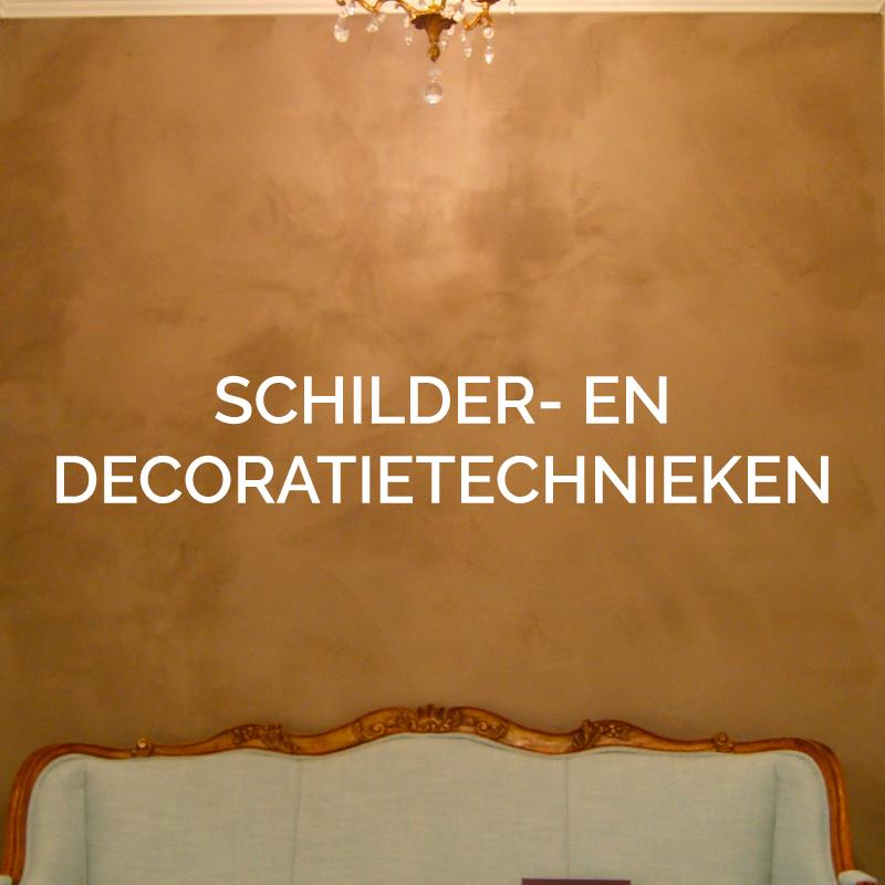 Schilderwerken diverse schildertechnieken