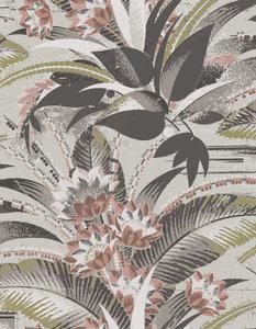 fleurig behangpapier met bloemen